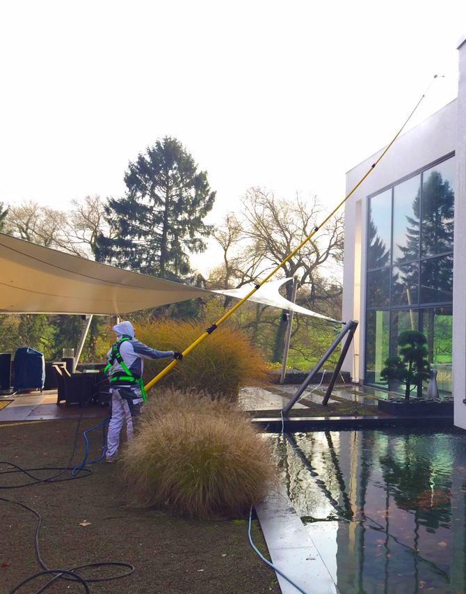 Professionelle Fassadenreinigung in NRW